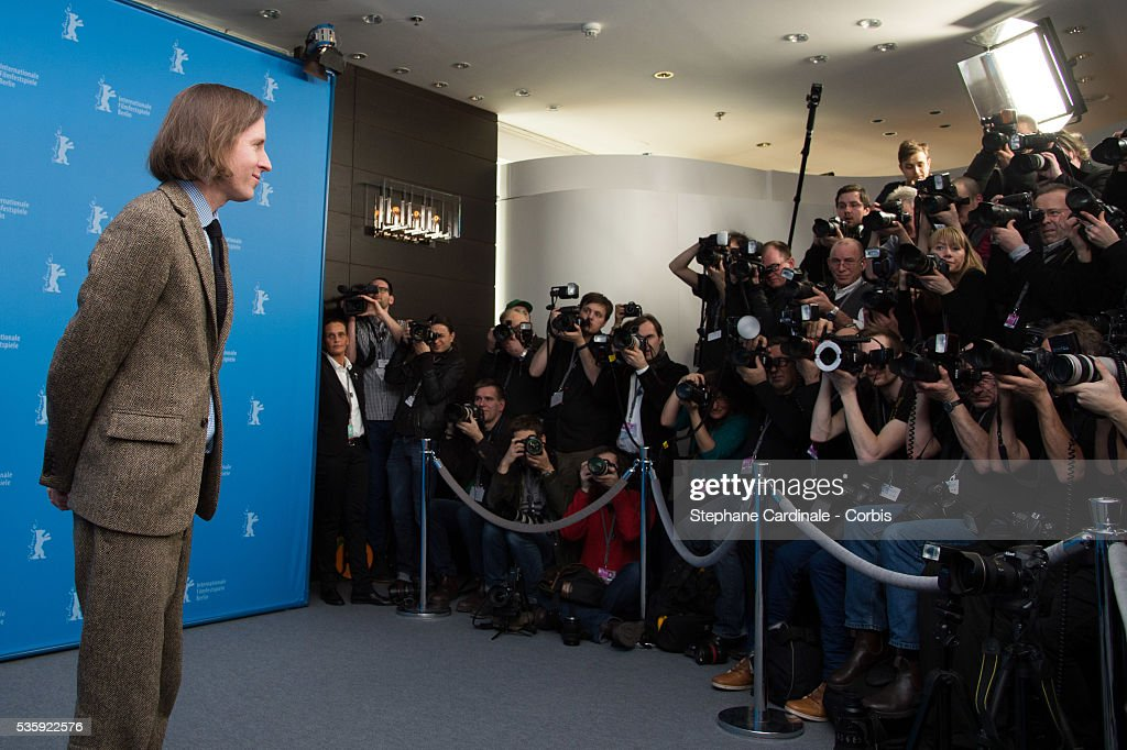 Director Wes Anderson attends the 'The Grand Budapest Hotel' photocall during the 64th Berlinale International Film Festival at the Grand Hyatt, in Berlin, Germany.