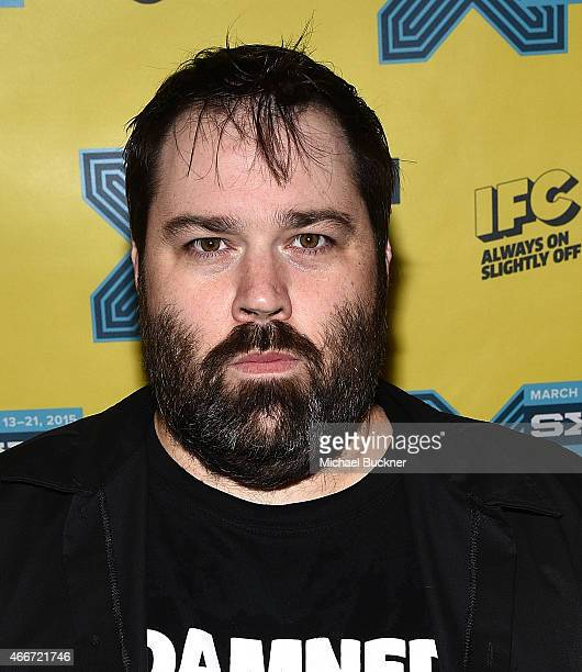 Director Wes Orshoski attends THE DAMNED Don't You Wish That We Were Dead screening during the 2015 SXSW Music FIlm Interactive Festival at The...