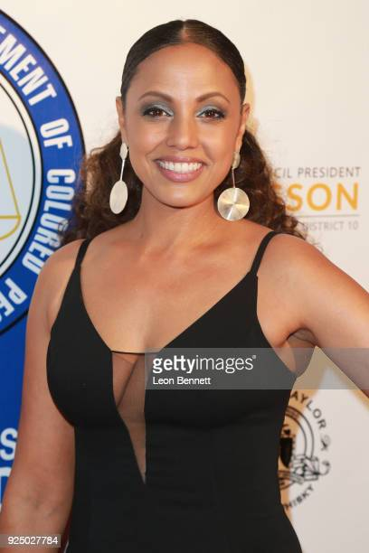 Director Weyni Mengesha attends the 27th Annual NAACP Theatre Awards at Millennium Biltmore Hotel on February 26 2018 in Los Angeles California