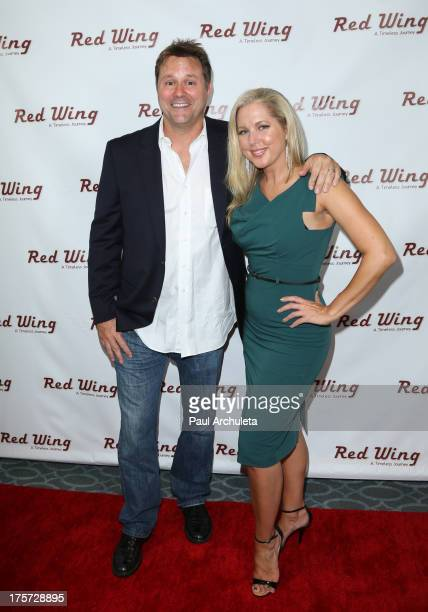Director Will Wallace and Actress Tammy Bar attend the premiere of Red Wing at Harmony Gold Theatre on August 6 2013 in Los Angeles California