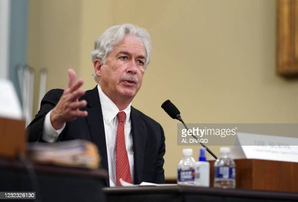 Director, William Burns, testifies during a House Intelligence Committee hearing about worldwide threats, on Capitol Hill in Washington, DC, April...