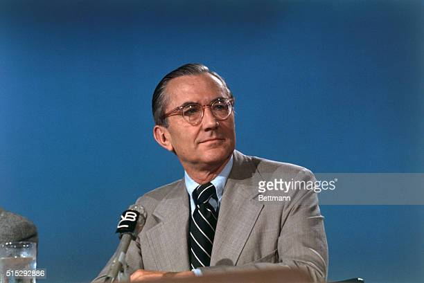 CIA Director William Colby during television appearance