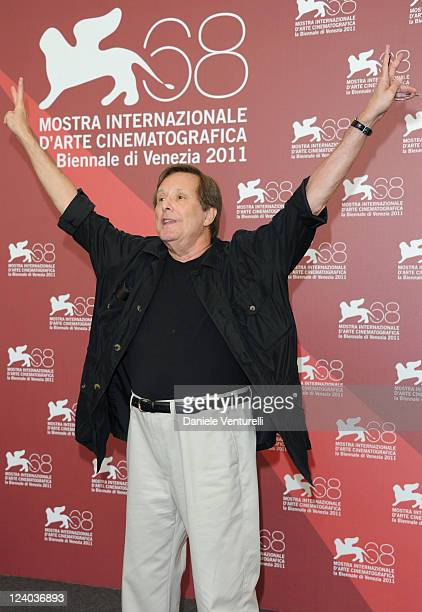 Director William Friedkin attends the Killer Joe Photocall during the 68th Venice International Film Festival at Palazzo del Casino on September 8...