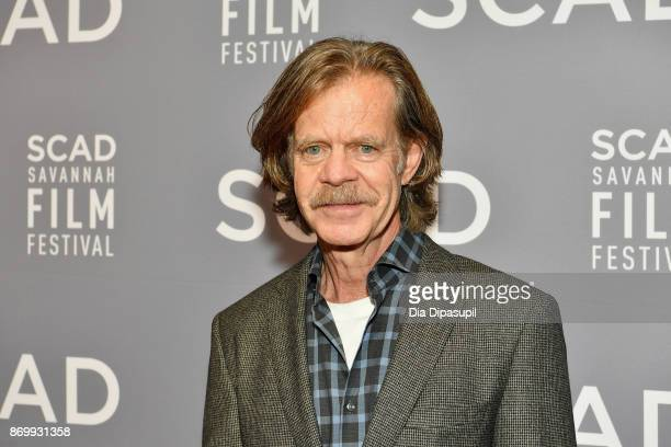Director William H Macy attends Maverick Award presentation during 20th Anniversary SCAD Savannah Film Festival on November 3 2017 in Savannah Georgia