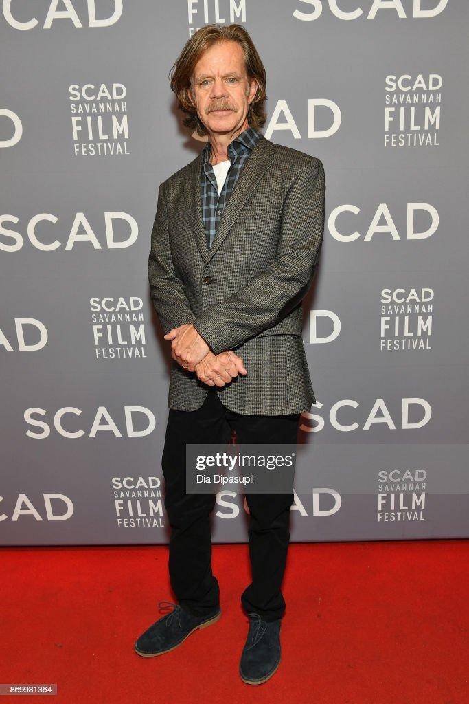 Director William H. Macy attends Maverick Award presentation during 20th Anniversary SCAD Savannah Film Festival on November 3, 2017 in Savannah, Georgia.
