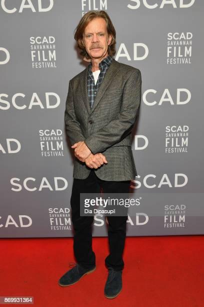 Director William H. Macy attends Maverick Award presentation during 20th Anniversary SCAD Savannah Film Festival on November 3, 2017 in Savannah,...