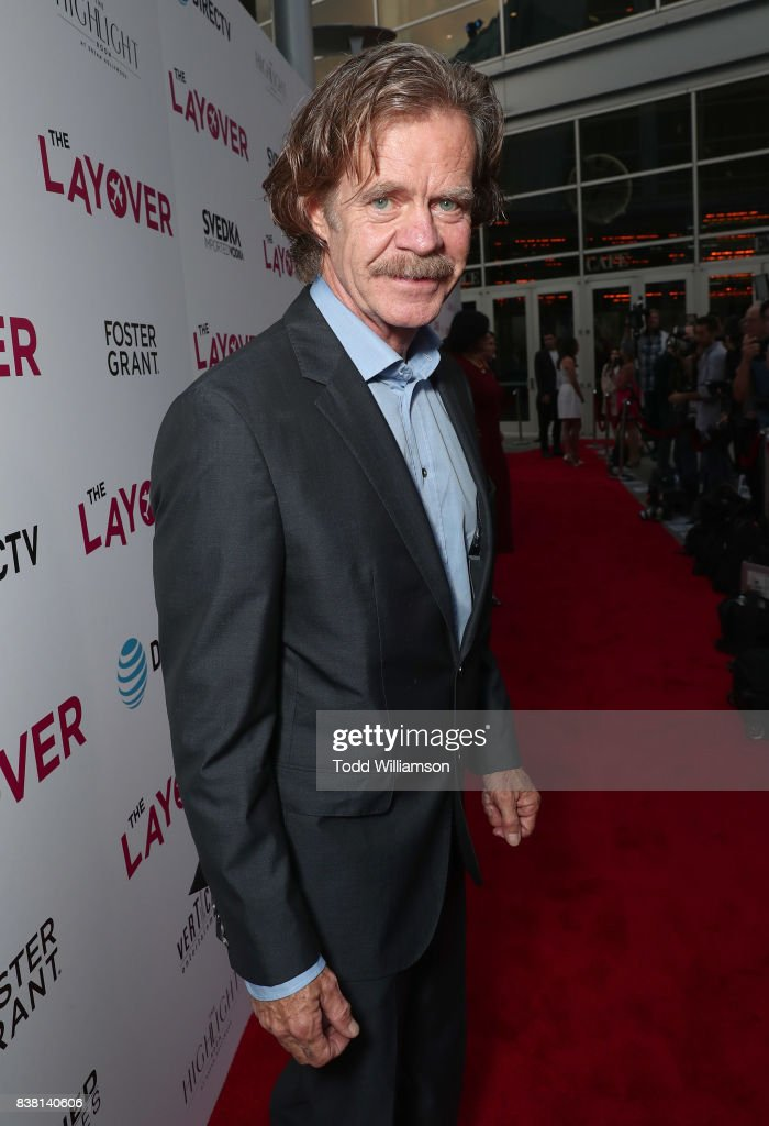 Director William H. Macy attends the premiere of DIRECTV And Vertical Entertainment's 'The Layover' at ArcLight Hollywood on August 23, 2017 in Hollywood, California.