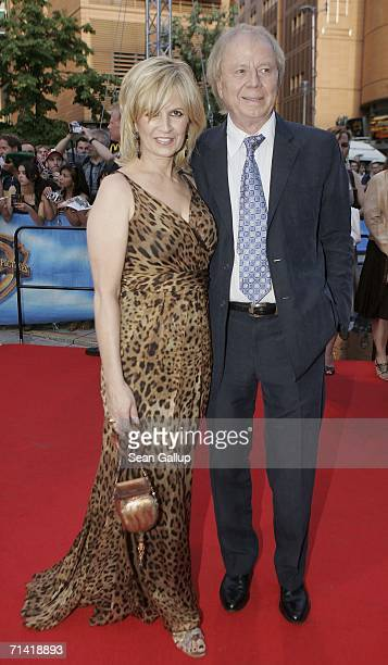 """Director Wolfgang Petersen and his wife Maria arrive for the German premiere of """"Poseidon"""" July 11, 2006 at the Berlinale Palast in Berlin, Germany."""