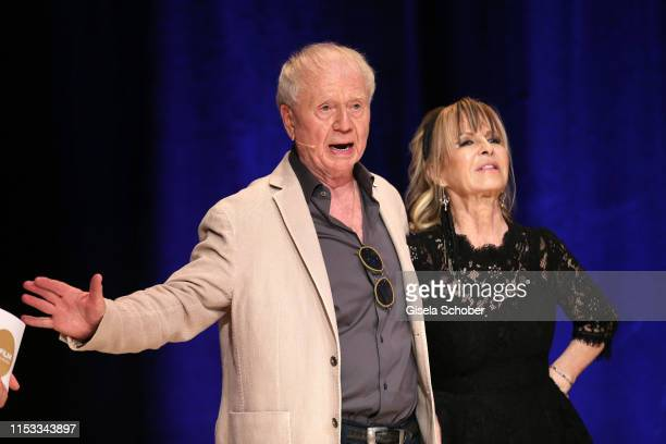 Director Wolfgang Petersen and his wife Maria BorgelPetersen during the Bavaria Film Reception One Hundred Years in Motion on the occasion of the...