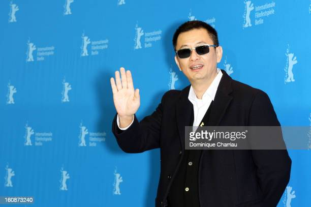Director Wong Kar Wai attends 'The Grandmaster' Photocall during the 63rd Berlinale International Film Festival at The Grand Hyatt Hotel on February...