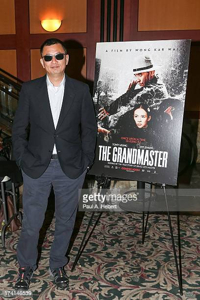 Director Wong Kar Wai attends The Weinstein Company's Midnight Screening Of The Grandmaster At ComicCon on July 20 2013 in San Diego California