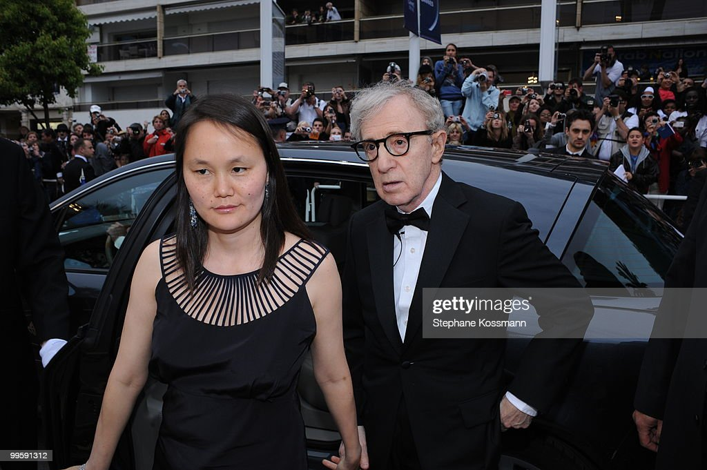 Director Woody Allen and his wife Soon-Yi Previn attend the 'You Will Meet A Tall Dark Stranger' Premiere at the Palais des Festivals during the 63rd Annual Cannes Film Festival on May 15, 2010 in Cannes, France.