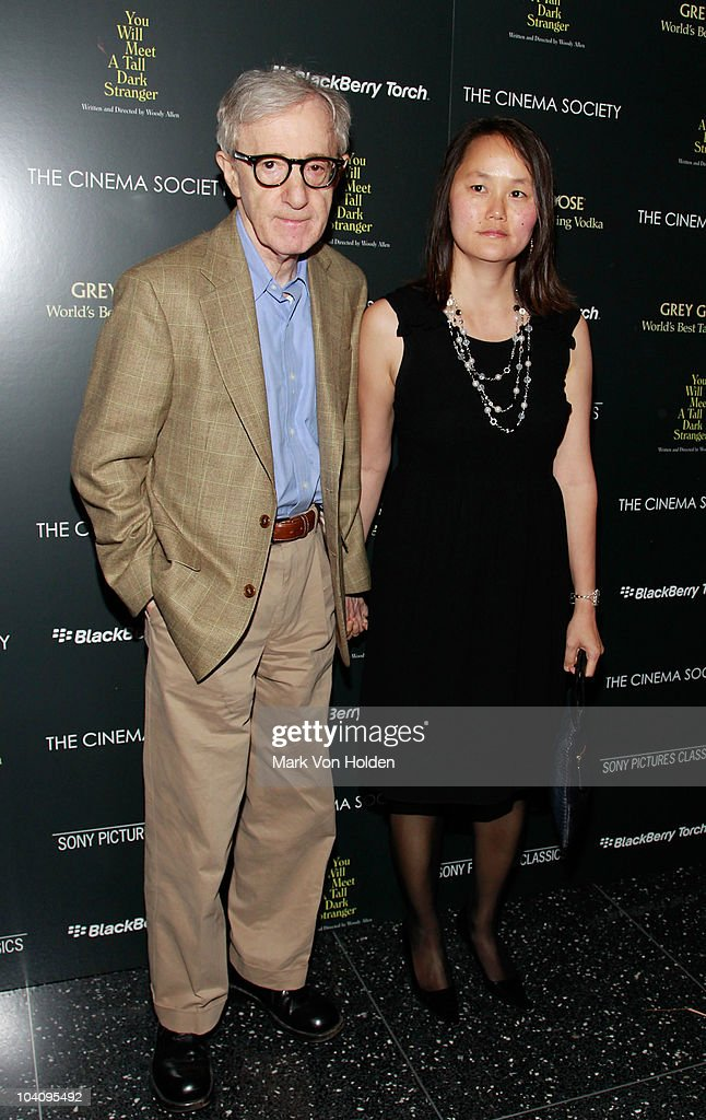 Director Woody Allen and Soon-Yi Previn attend the Cinema Society and BlackBerry Torch screening of 'You Will Meet a Tall Dark Stranger' at MOMA on September 14, 2010 in New York City.