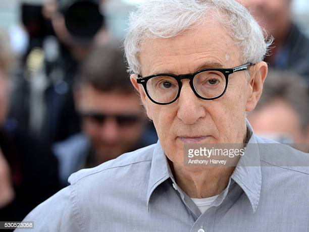 Director Woody Allen attends the 'Cafe Society' photocall during the 69th annual Cannes Film Festival at Palais des Festivals on May 11 2016 in Cannes
