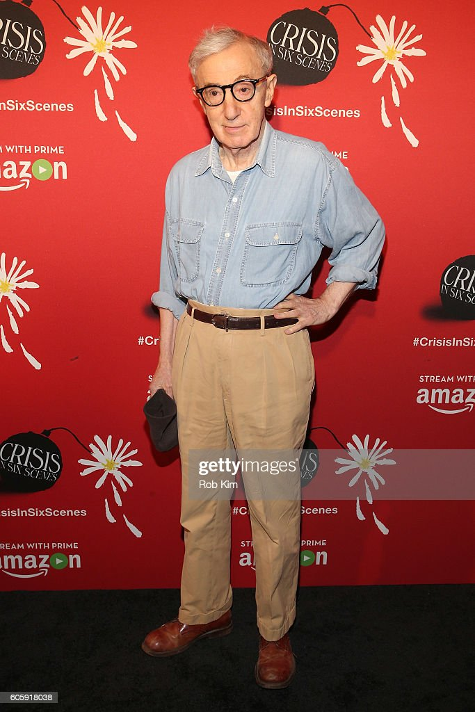 Director Woody Allen attends the world premiere of 'Crisis in Six Scenes' at the Crosby Street Hotel on September 15, 2016 in New York City.