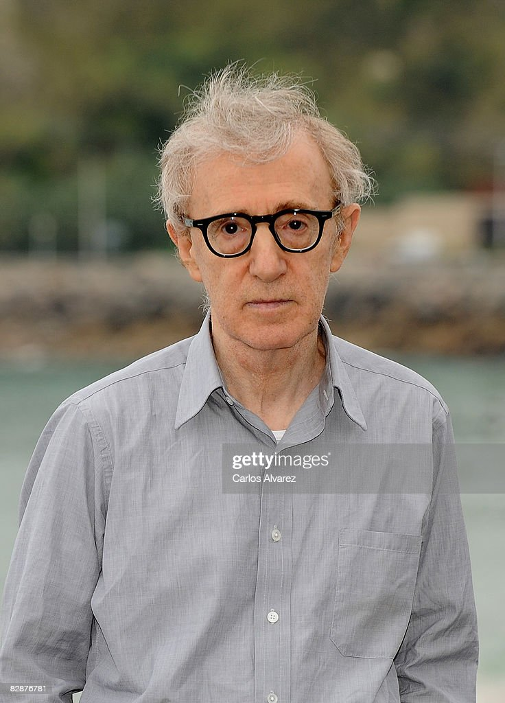 Director Woody Allen attends 'Vicky Cristina Barcelona' photocall at the Kursaal Palace during the San Sebastian International Film Festival on September 18, 2008 in San Sebastian, Spain.