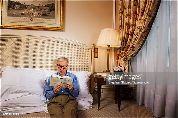 Director Woody Allen is photographed for Le Figaro Magazine on August 28 2014 in Paris France CREDIT MUST READ Stephan Gladieu/Figarophoto/Contour by...
