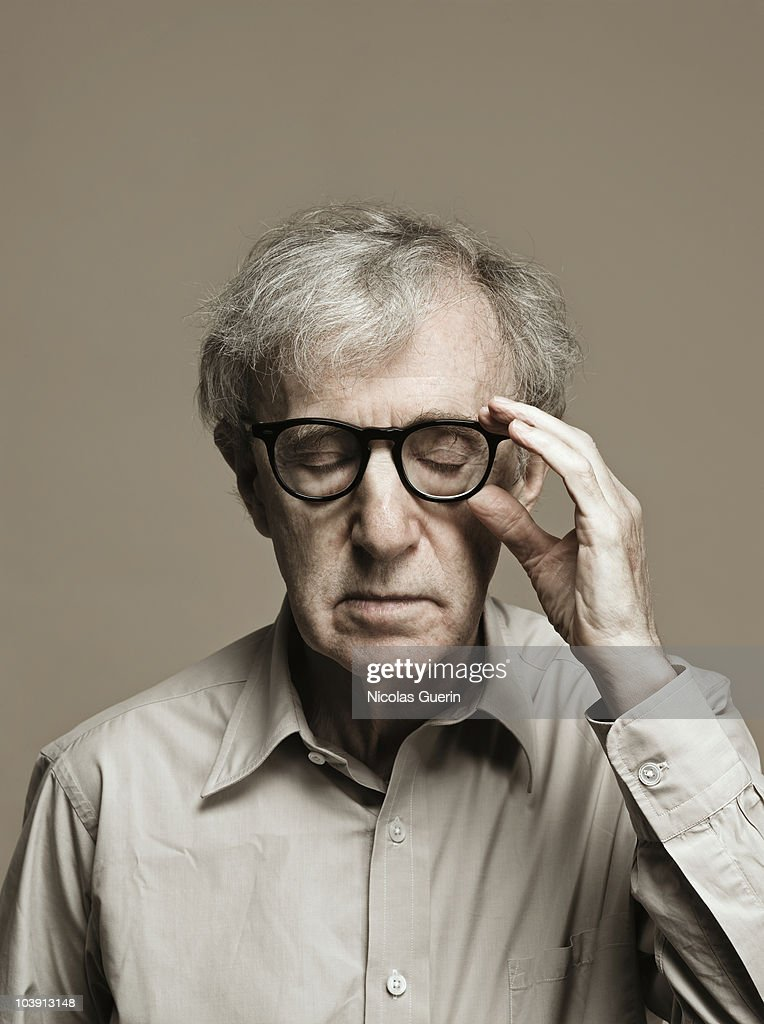 Director Woody Allen poses at a portrait session in Paris on September 1. 2010