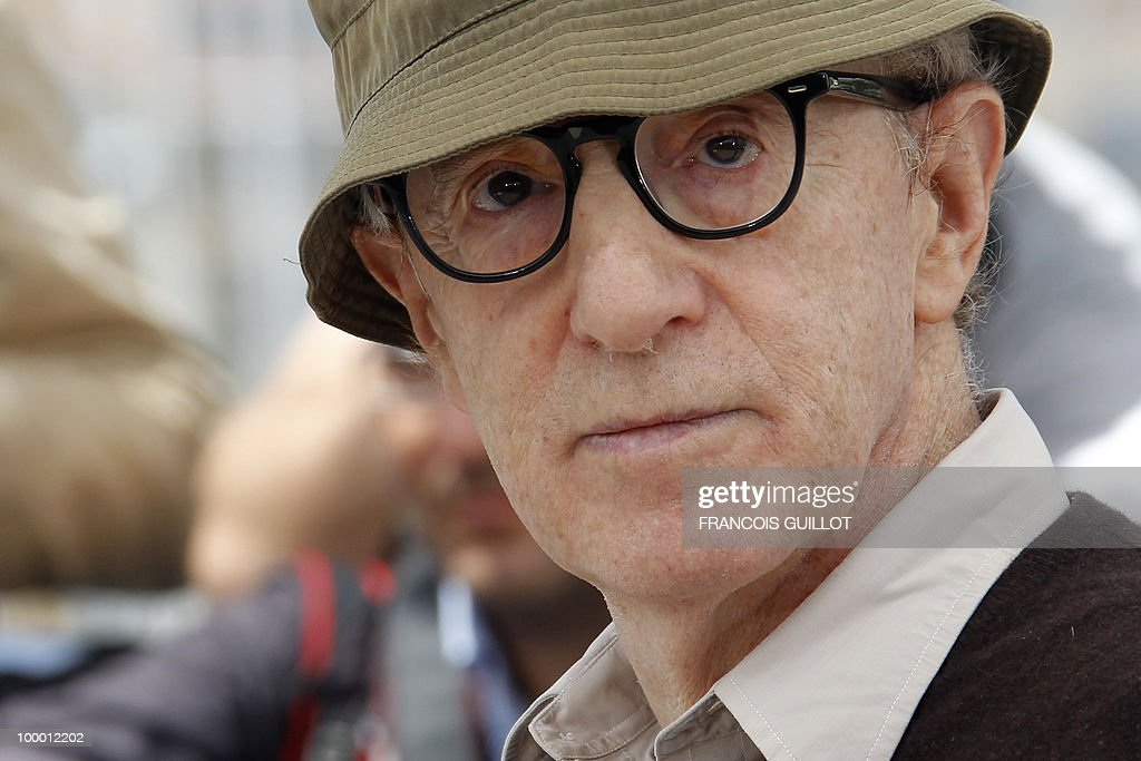 US director Woody Allen poses during the