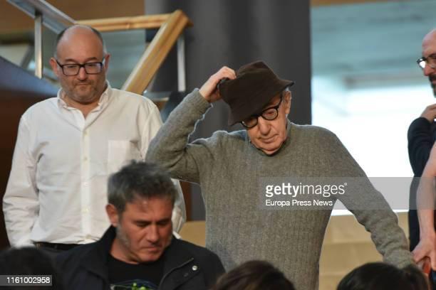 Director Woody Allen starts filming a new movie in San Sebastián on July 09, 2019 in San Sebastián, Spain.