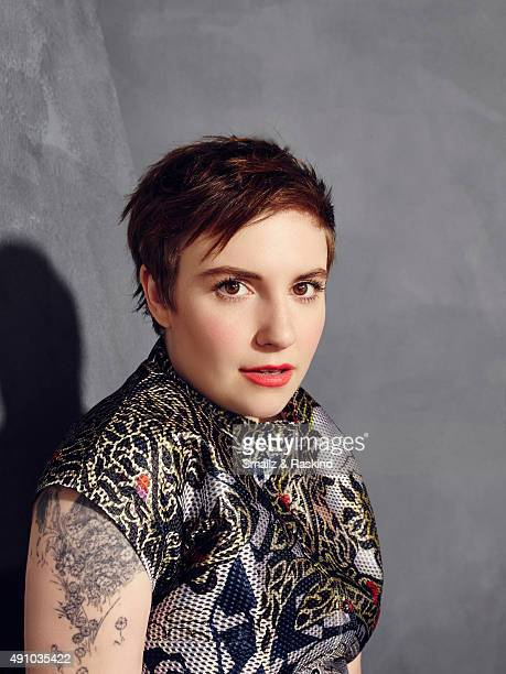 Director writer and actress Lena Dunham is photographed for The Hollywood Reporter on May 31 2015 in Los Angeles California