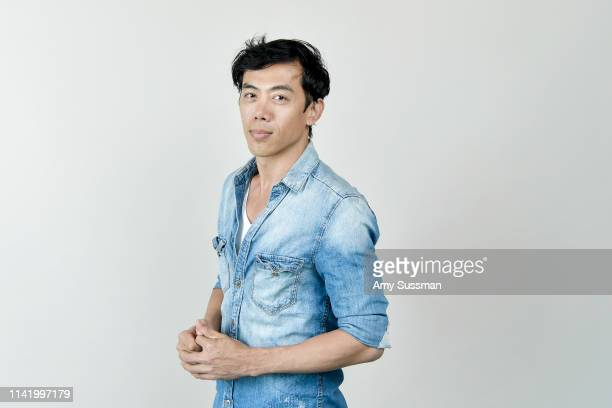 Director writer and editor Leon Le from 'Song Lang' is photographed at the Los Angeles Asian Pacific Film Festival on May 3 2019 in Los Angeles...