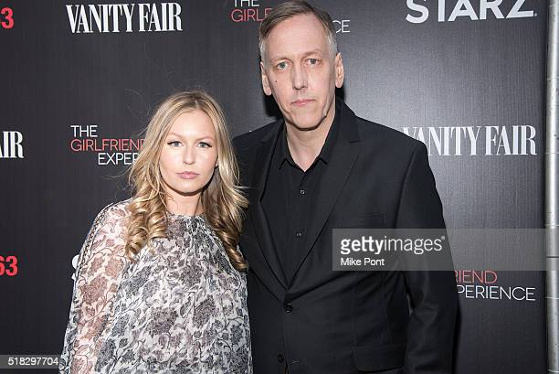 Director writer and executive producer Lodge Kerrigan and his daughter attend 'The Girlfriend Experience' New York Premiere at The Paris Theatre on...