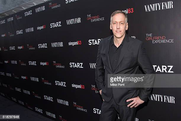 Director writer and executive producer Lodge Kerrigan attends 'The Girlfriend Experience' New York Premiere at The Paris Theatre on March 30 2016 in...