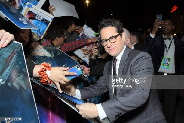 """Director, Writer and Producer J.J. Abrams arrives for the World Premiere of """"Star Wars: The Rise of Skywalker"""", the highly anticipated conclusion of..."""