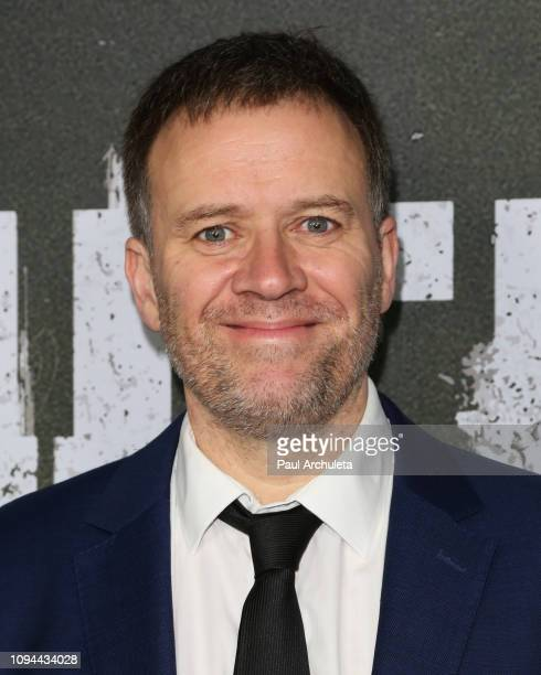 Director / Writer Jim O'Hanlon attends Marvel's The Punisher Los Angeles premiere at the ArcLight Hollywood on January 14 2019 in Hollywood California