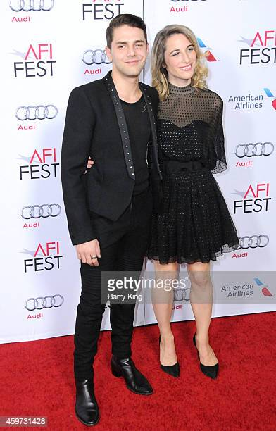 Director Xavier Dolan and guest arrive at AFI FEST 2014 Presented By Audi 'Mommy' Premiere at Dolby Theatre on November 12 2014 in Hollywood...