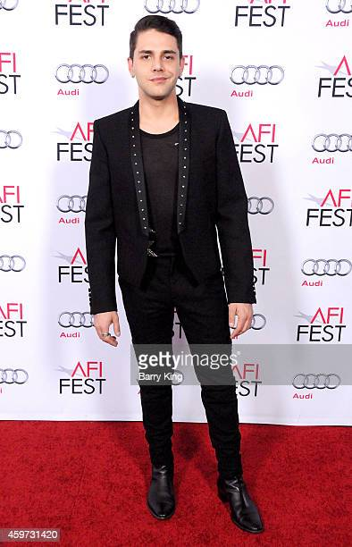 Director Xavier Dolan arrives at AFI FEST 2014 Presented By Audi 'Mommy' Premiere at Dolby Theatre on November 12 2014 in Hollywood California
