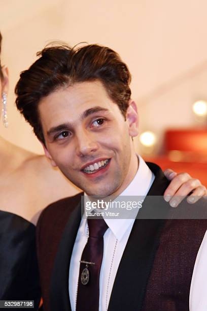 Director Xavier Dolan attends the 'It's Only The End Of The World ' Premiere during the 69th annual Cannes Film Festival at the Palais des Festivals...