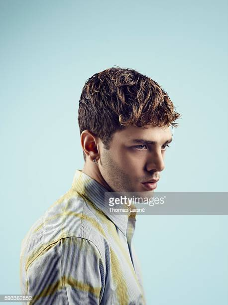 Director Xavier Dolan is photographed for Self Assignment on June 26 2014 in Paris France