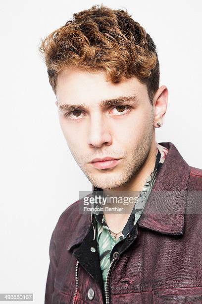 Director Xavier Dolan is photographed for Self Assignment on May 22 2014 in Cannes France