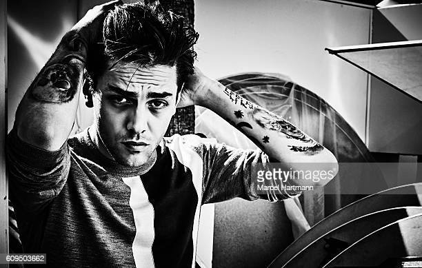 Director Xavier Dolan is photographed for Vanity Fair Italy on May 12 2016 in Cannes France