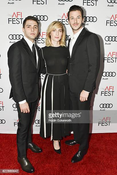 """Director Xavier Dolan, producer Nancy Grant, and actor Gaspard Ulliel attend AFI FEST 2016 presented yy Audi - screening of """"It's Only The End Of The..."""