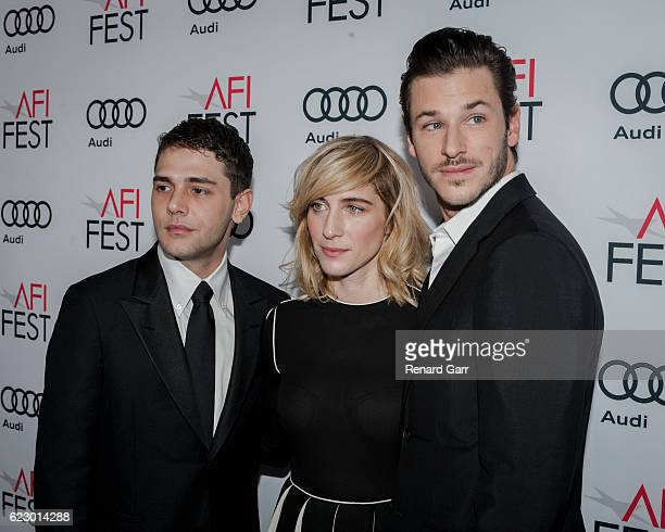 Director Xavier Dolan producer Nancy Grant and actor Gaspard Ulliel attend AFI FEST 2016 presented yy Audi screening of 'It's Only The End Of The...