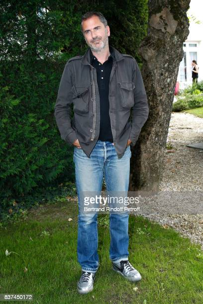 Director Xavier Giannoli attends the 10th Angouleme FrenchSpeaking Film Festival Day One on August 22 2017 in Angouleme France