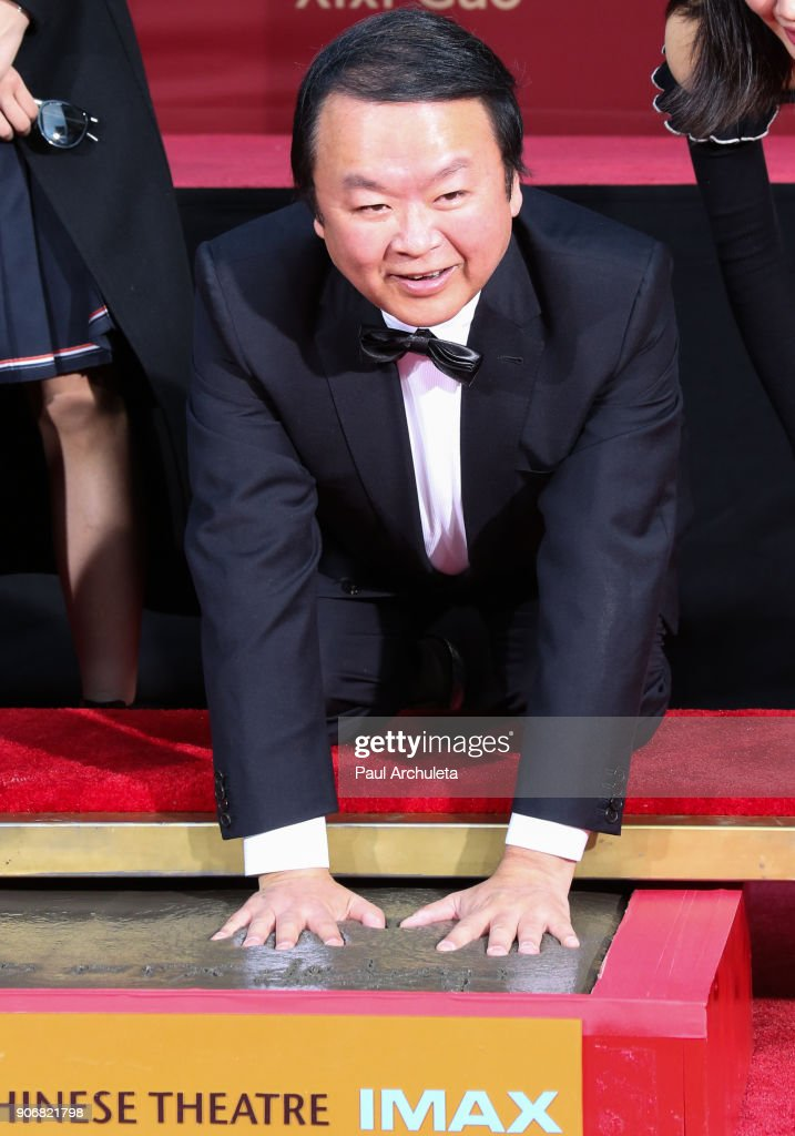 Xixi Gao Hand And Footprint Ceremony At TCL Chinese Theatre