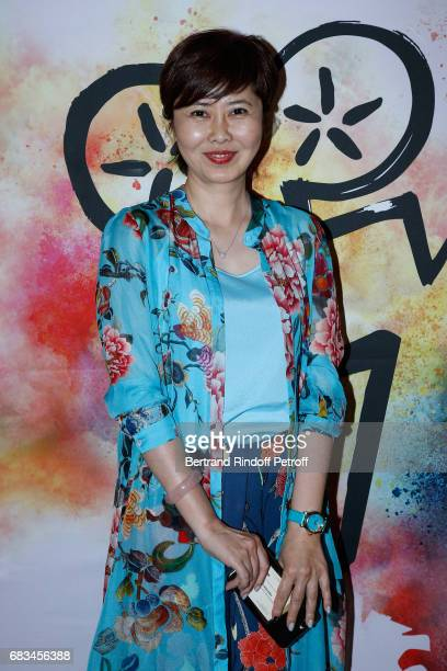 Director Xue Xiaolu attends the 7th Chinese Film Festival Opening Cocktail at Hotel Meurice on May 15 2017 in Paris France