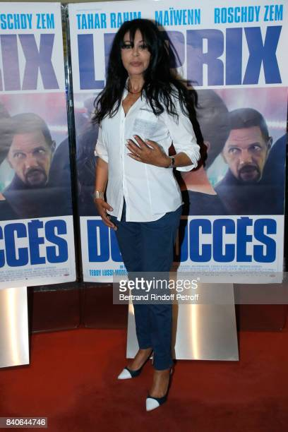 Director Yamina Benguigui attends the 'Le Prix Du Success' Paris Premiere at UGC Les Halles on August 29 2017 in Paris France