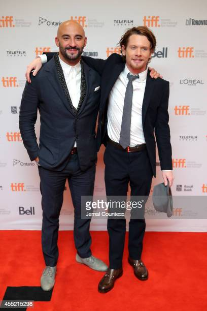 Director Yann Demange and Actor Jack O'Connell attend the ''71' premiere during the 2014 Toronto International Film Festival at Princess of Wales...