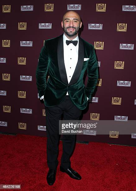 Director Yann Demange attends the 21st Century Fox and Fox Searchlight Oscar Party at BOA Steakhouse on February 22 2015 in West Hollywood California