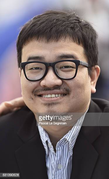 Director Yeon Sangho attends the 'Train To Busan ' photocall during the 69th Annual Cannes Film Festival on May 14 2016 in Cannes France