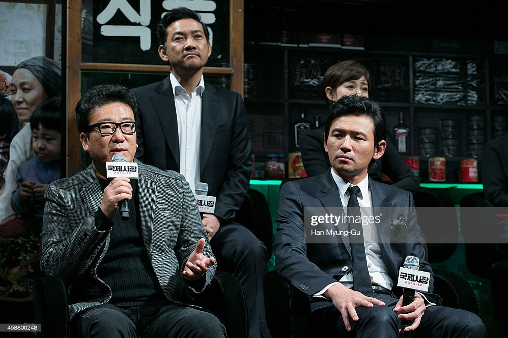 """Ode To My Father"" Press Conference In Seoul : News Photo"