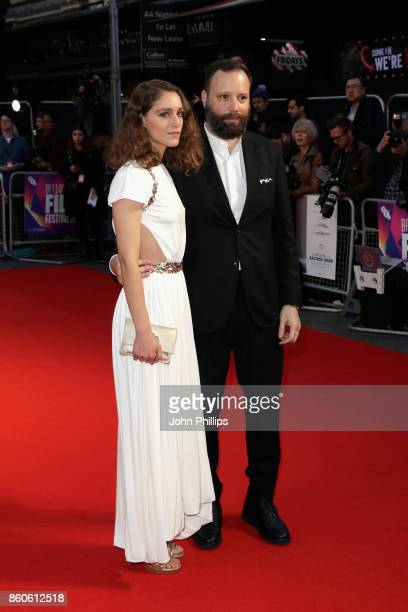 Director Yorgos Lanthimos and his wife Ariane Labed attend the Headline Gala Screening UK Premiere of 'Killing of a Sacred Deer' during the 61st BFI...