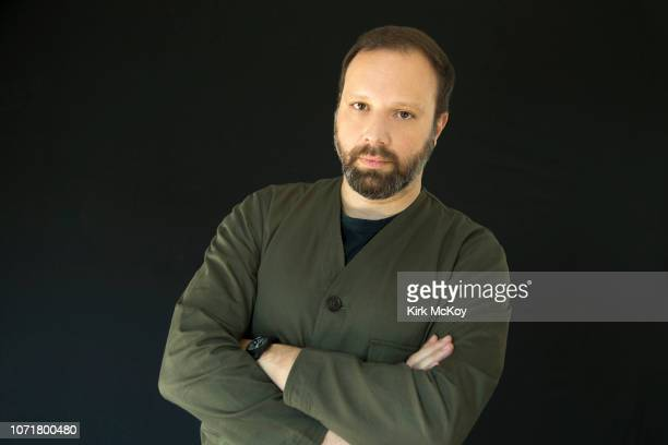 Director Yorgos Lanthimos is photographed for Los Angeles Times on November 18 2018 in Bel Air California PUBLISHED IMAGE CREDIT MUST READ Kirk...
