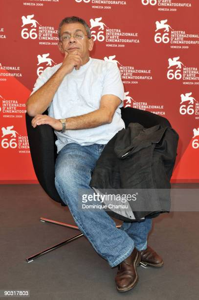 """Director Yousry Nasrallah attends the """"Scheherazade, Tell Me A Story"""" Photocall at the Palazzo del Casino during the 66th Venice International Film..."""