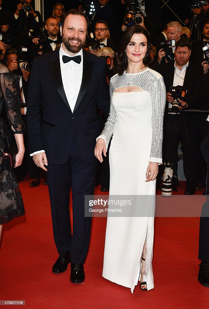 Director Yrgos Lnthimos and Rachel Weisz attend the 'Lobster' Premiere during the 68th annual Cannes Film Festival on May 15, 2015 in Cannes, France.